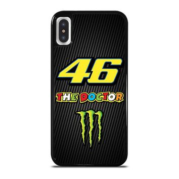 VALE 46 THE DOCTOR VALENTINO ROSSI iPhone X / XS case