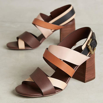 See by Chloe Susanna Block-Heeled Sandals