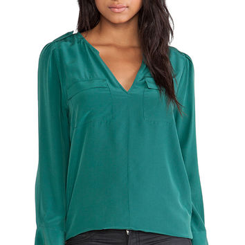 Joie Marlo Blouse in Green