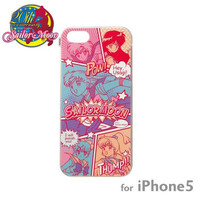 Sailor Moon Character Hard iPhone 5 Case (Comic Pattern)