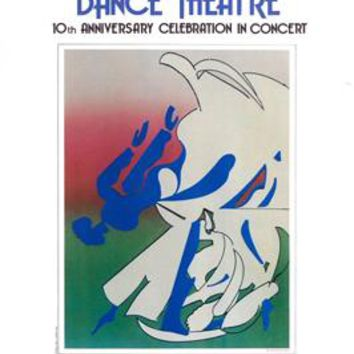 Nanette Bearden Contemporary Dance Theatre 10th Anniversary Romare Bearden Art Print