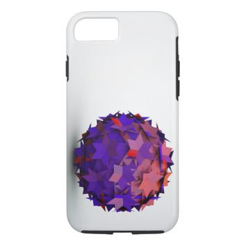 3d colors ball iPhone 8/7 case