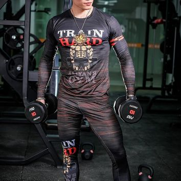 Men Train Like A Monster Fitness Shirt
