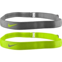 Nike Women's Adjustable Headbands - 2 Pack
