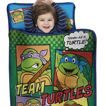 Ninja Turtles Nap Mat Team Turtles Toddler Sleep Roll