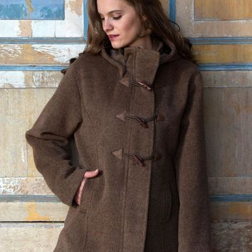 Toggle Alpaca Coat