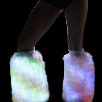 Color Changing Light Up Fur Fluffies