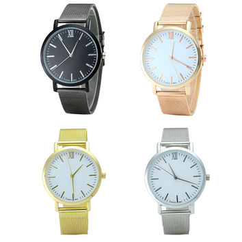 Women Watch Luxury Fashion Super Thin Case Watch Band Wrist Watch