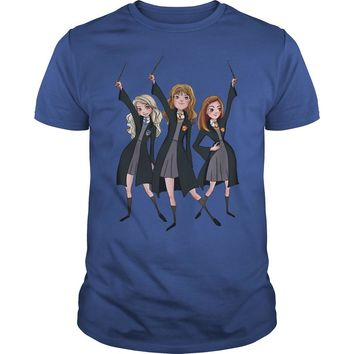 Hermione, Luna Lovegood, Ginny Harry Potter shirt Premium Fitted Guys Tee