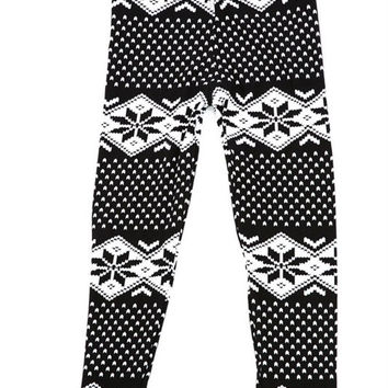 KIDS: Snowflake Leggings