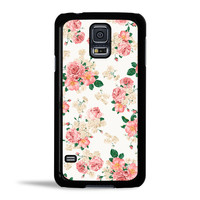 Pink Carnation Floral Case for Samsung Galaxy S5