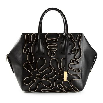 Stella McCartney 'Cavendish' zip detail tote