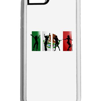 Mexican Flag - Dancing Silhouettes White Dauphin iPhone 6 Cover by TooLoud