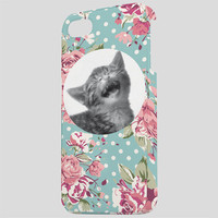 Ankit Floral Cat Iphone 5/5S Case Multi One Size For Women 24327895701