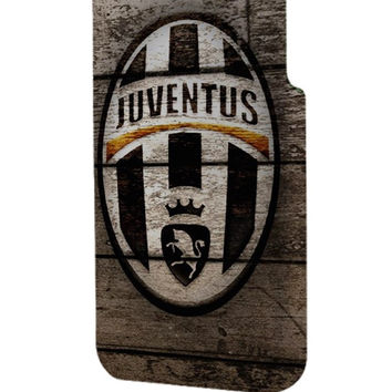 Best 3D Full Wrap Phone Case - Hard (PC) Cover with Wood with Juventus FC logo Design