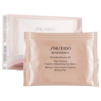 Benefiance WrinkleResist24 Pure Retinol Express Smoothing Eye Mask - Shiseido | Sephora