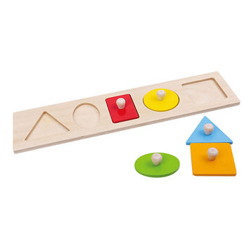 Let's Learn Shapes! Wooden Puzzle