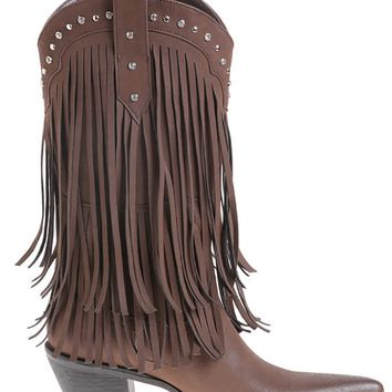 Passions® Ladies Fringe Boots