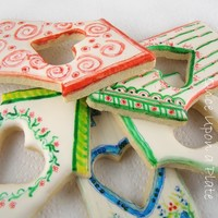 Once Upon a Plate: Edible Handpainted Cookies ~   Part Three