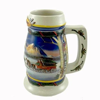Budweiser 2000 Holiday Stein
