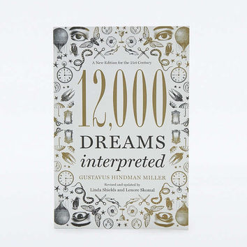 12,000 Dreams Interpreted Book - Urban Outfitters