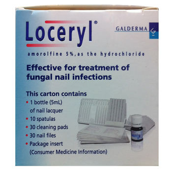 Loceryl Nail Lacquer Treatment 5ml Antifungal by Galderma