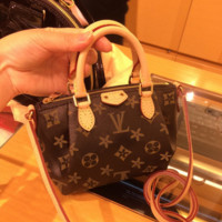 LV Women Shopping Leather Tote Crossbody Satchel Shoulder Bag Handbag