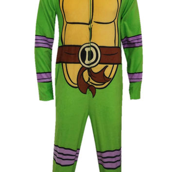 Teenage Mutant Ninja Turtle Donatello Fleece Onesuit Pajama