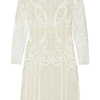 Temperley London - Catroux embroidered tulle dress