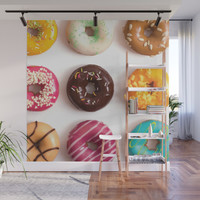 I Donut Care Wall Mural by allisone