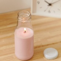 Flamingo Candles Pastel Pink Shake It Milk Bottle Candle at asos.com