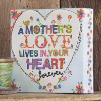 Mother's  Love  Crazy  Love  Canvas  Art  From  Natural  Life