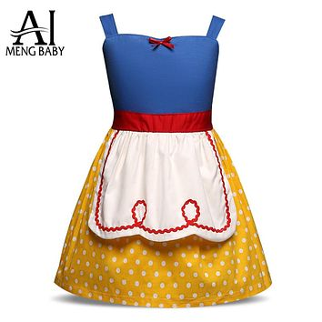 Fairy Tale Fantasy Princess Cosplay Costumes Girl Dress Wedding School Party Dresses For Teen Girls Kids Clothes