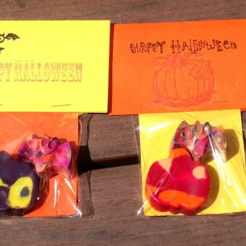 Halloween Party Favors    Crayons with Custom Label by LilNicks