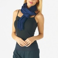 Amazon.com: High Style 100% Cashmere Men and Women Solid Scarf (001, Navy): Clothing