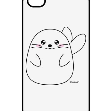 Cute Seal iPhone 4 / 4S Case  by TooLoud