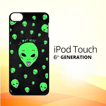 Alien We Out Here X4148 iPod Touch 6 Case