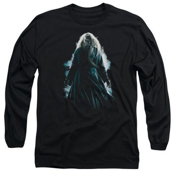 Harry Potter - Dumbledore Burst Long Sleeve Adult 18/1 Officially Licensed Shirt