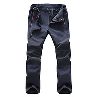 Summer Men's Quick Dry Pants Men Casual Pant Waterproof Jogger Male Trousers Spring Men's Brand Clothing
