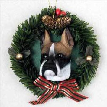 BOXER WREATH ORNAMENT