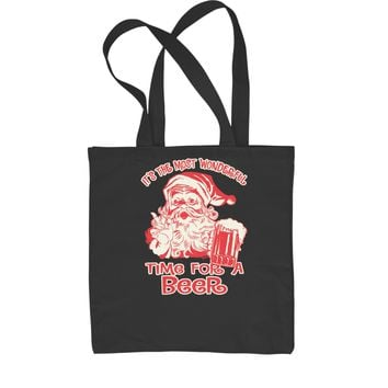 It's The Most Wonderful Time For A Beer Shopping Tote Bag