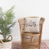 Calligraphy Pillow Cover