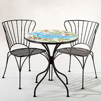Rio Bird Cadiz Mosaic Bistro Collection | Outdoor and Patio Furniture| Furniture | World Market