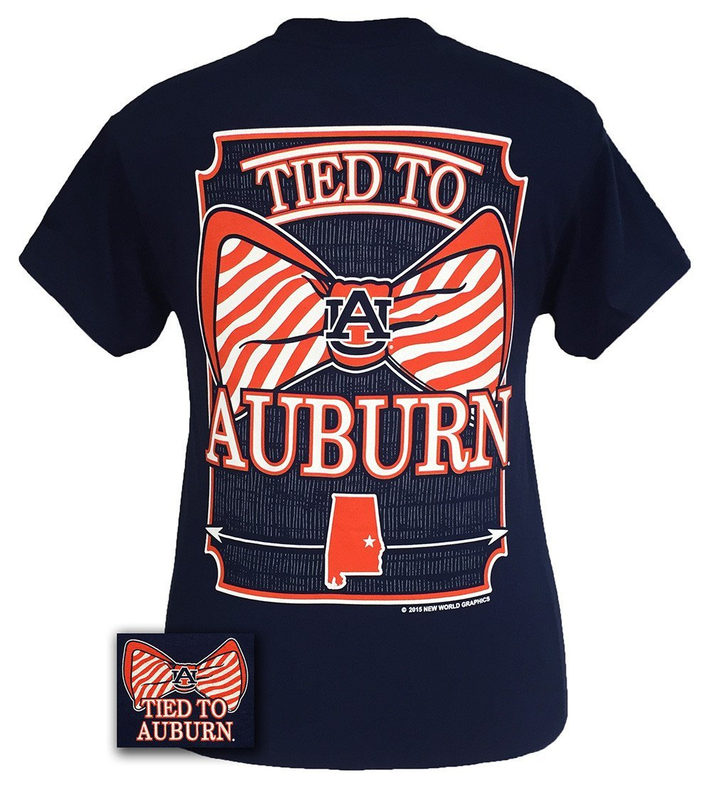 f5377f1c167 Auburn Tigers War Eagle Tied To Prep Bow from Simply Cute Tees