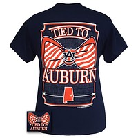 Auburn Tigers War Eagle Tied To Prep Bow Bright T-Shirt