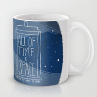 All Of Time And Space Mug by Nan Lawson