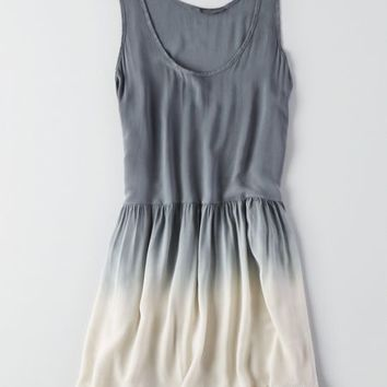 AEO Women's Don't Ask Why Ruffled Hem Dress