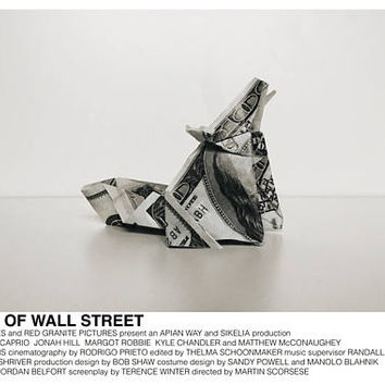 The Wolf of Wall Street poster (Martin Scorsese, 2013) [