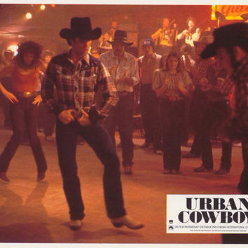 Urban Cowboy (French) 11x14 Movie Poster (1980)