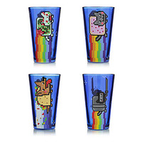 Nyan Cat Pint Glass Set